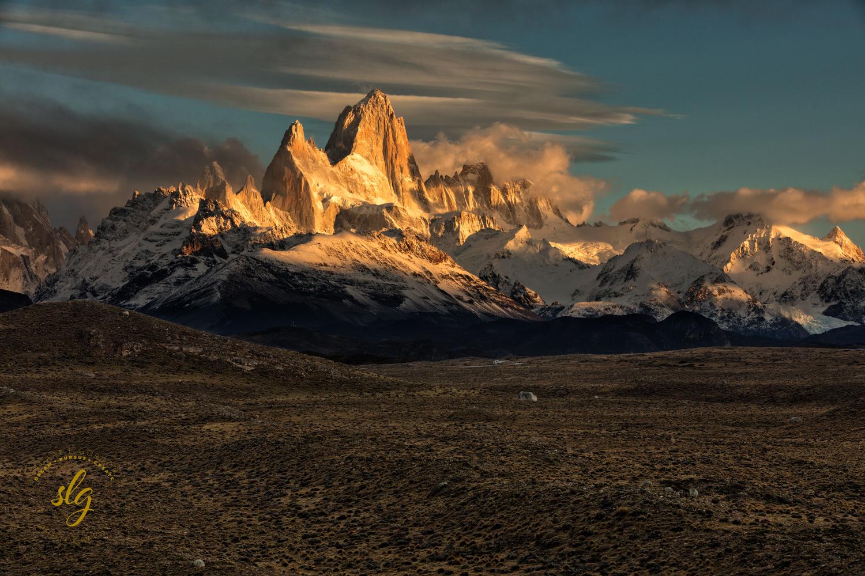 Cerro Fitzroy at Sunrise by Stuart Gordon