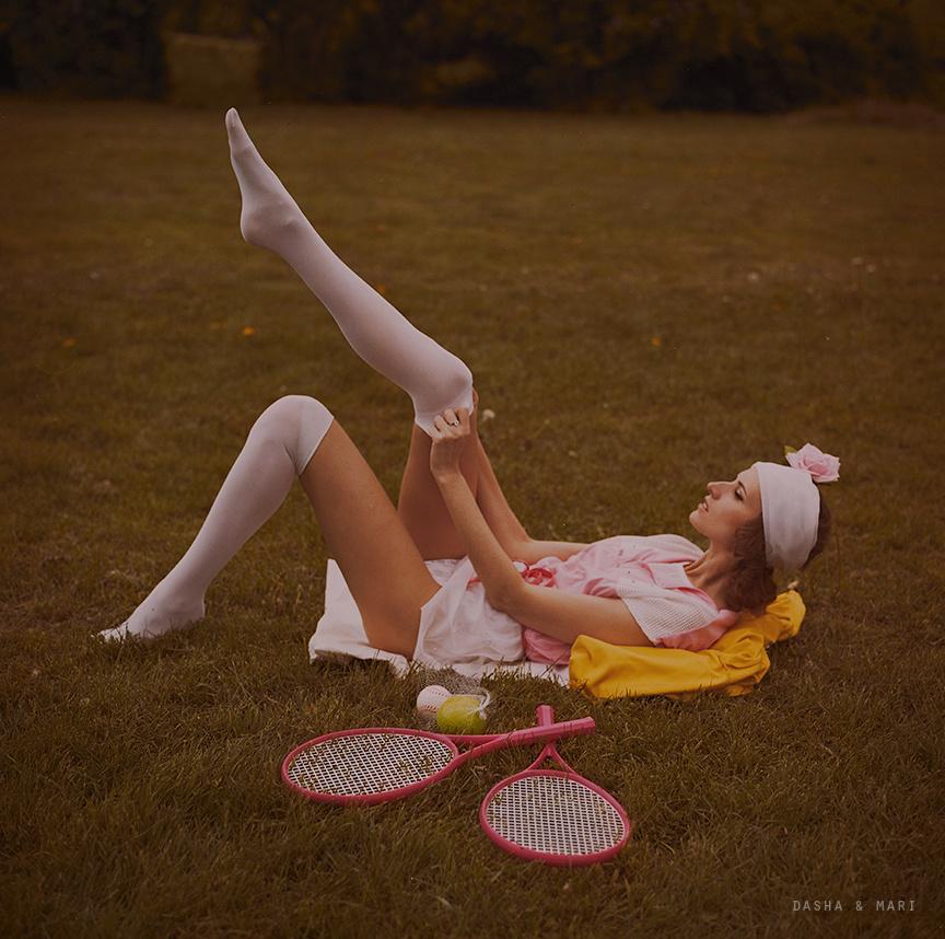 Tennis by Dasha and Mari K.