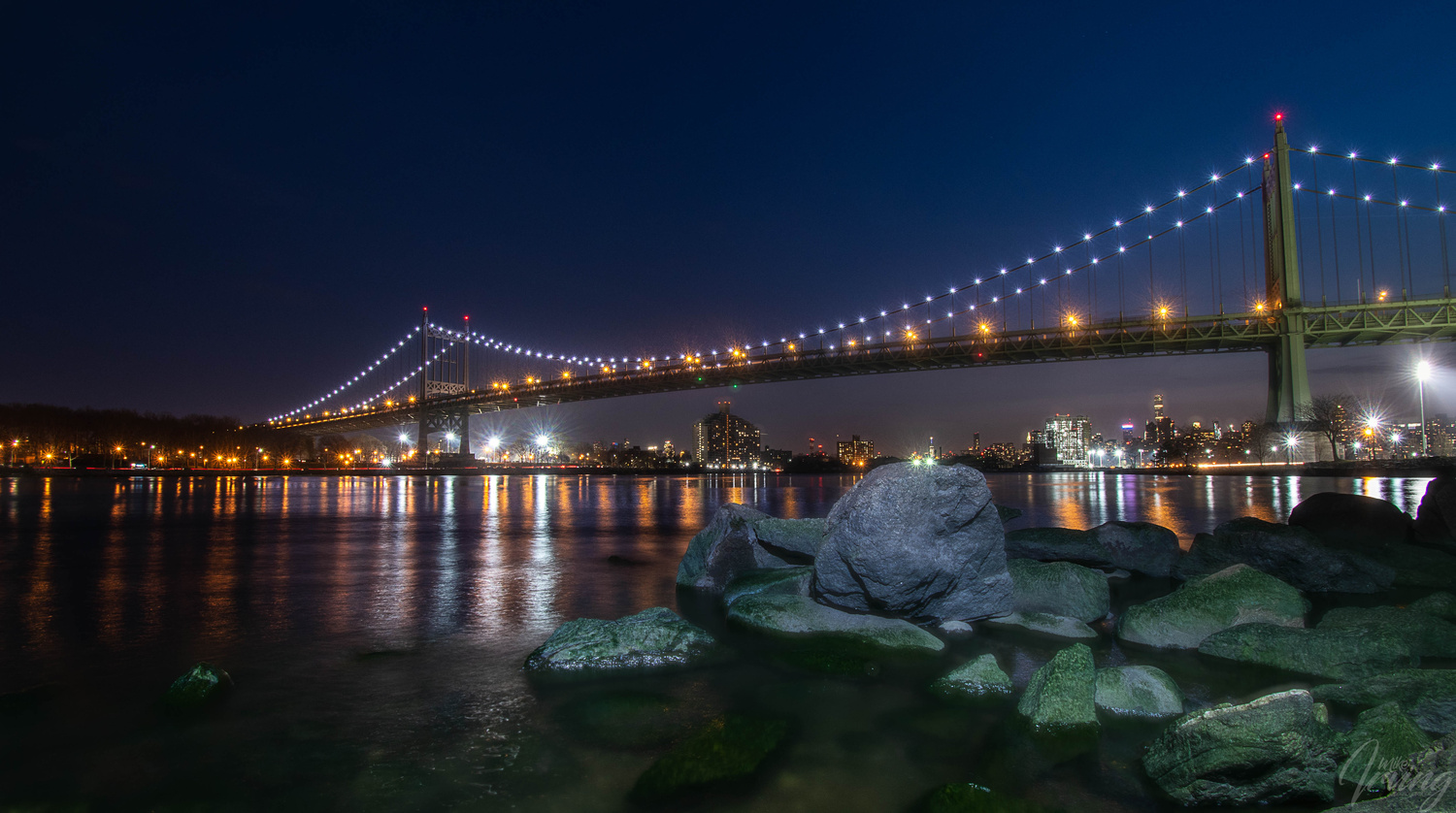 Triboro Bridge NY by Mike Irving