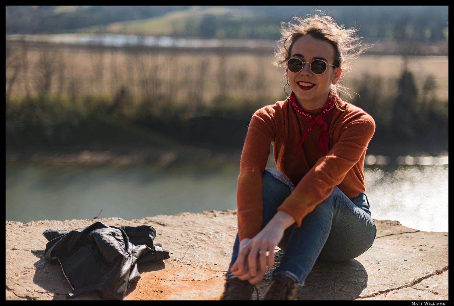 Kristin Above the Cumberland by Matt Williams