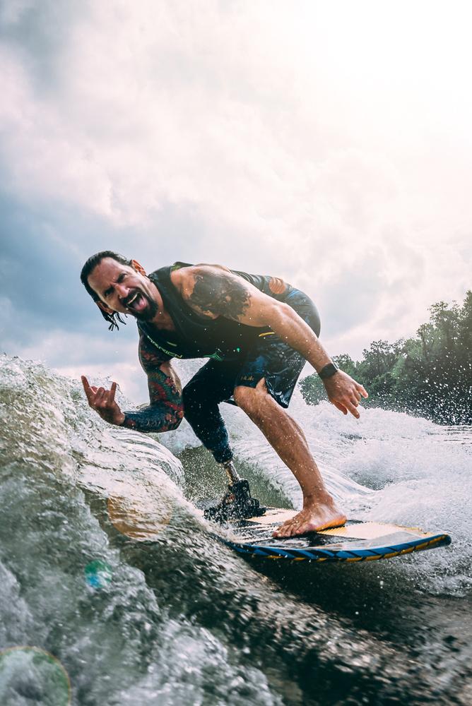 Wakeboarding by David Stuckey