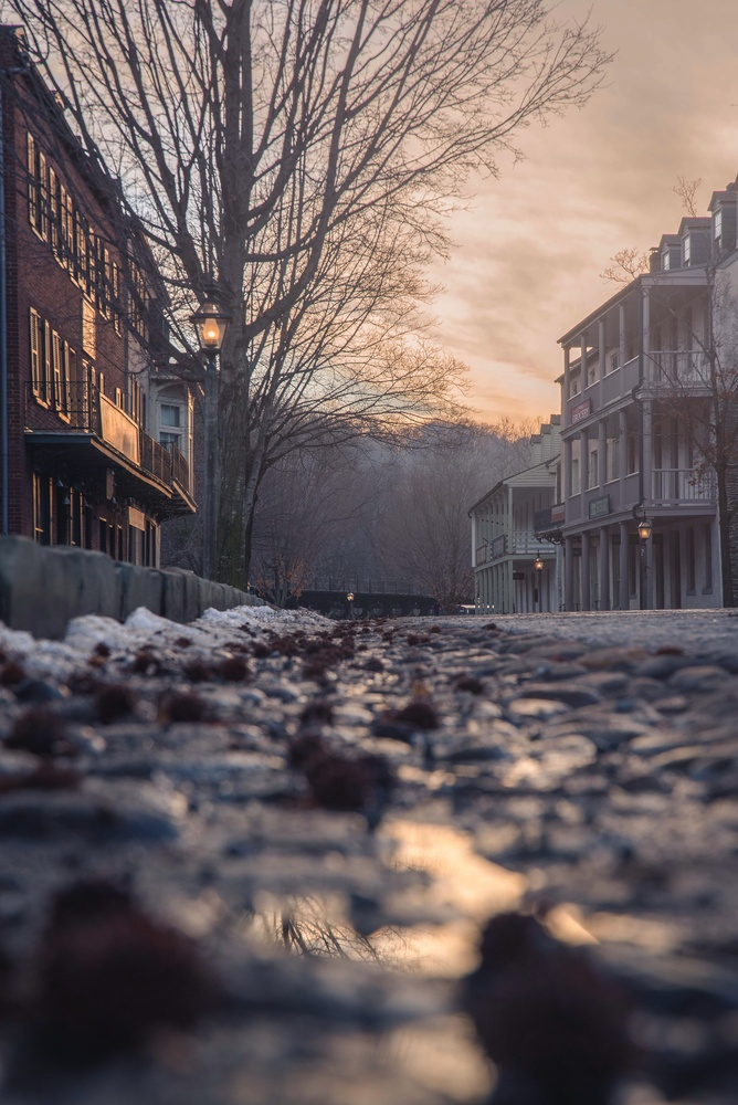 Sunset in Harpersferry by David Stuckey