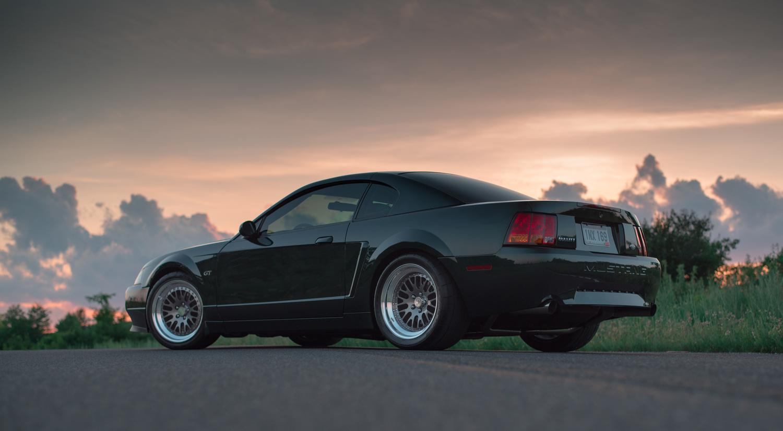Bullitt Mustang  by David Stuckey