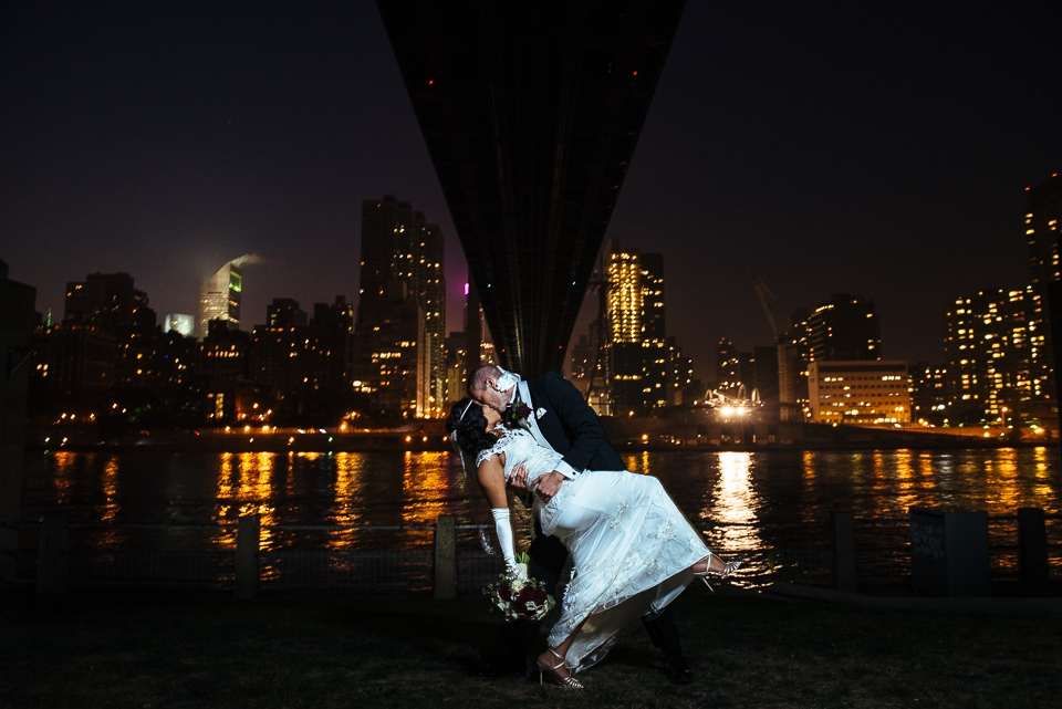 Roosevelt Island Wedding by Jerrit Pruyn