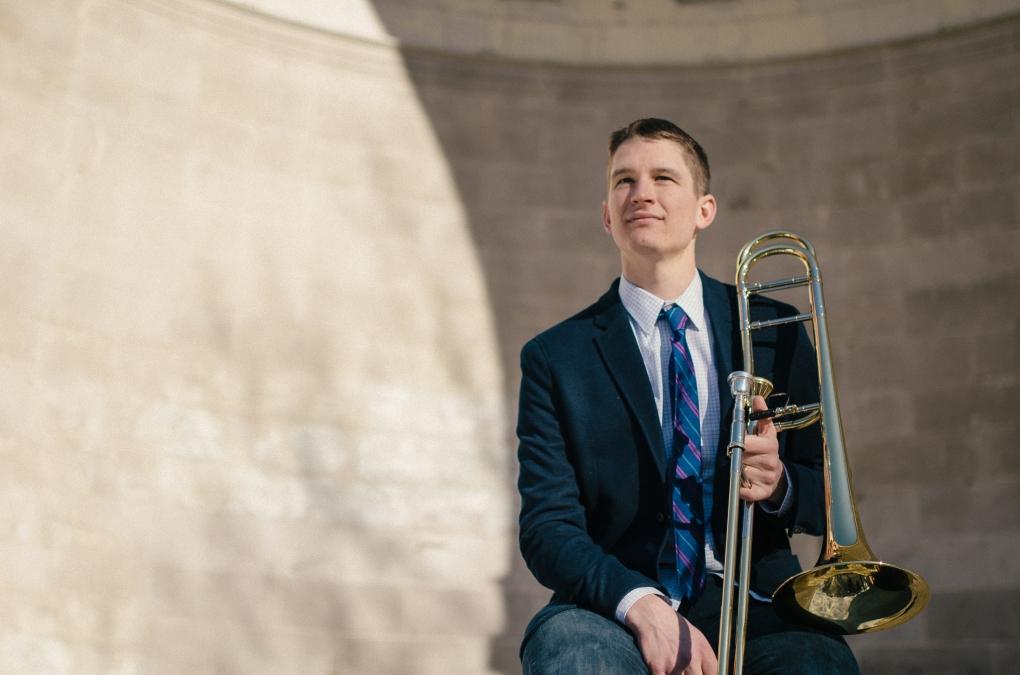 Trombone Player by Jerrit Pruyn