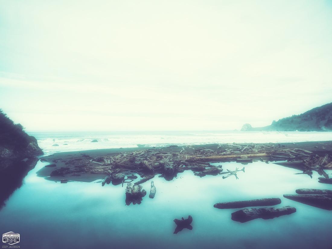 Dramatic Coastal Lagoon by Cody Jacobson