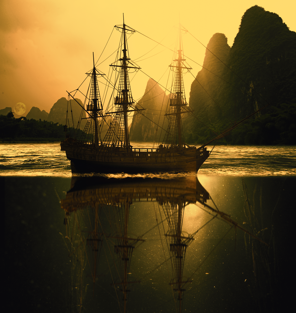 Mysterious Island by Ayush Phillip