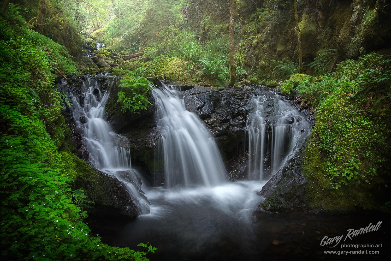 Emerald Falls by Gary Randall