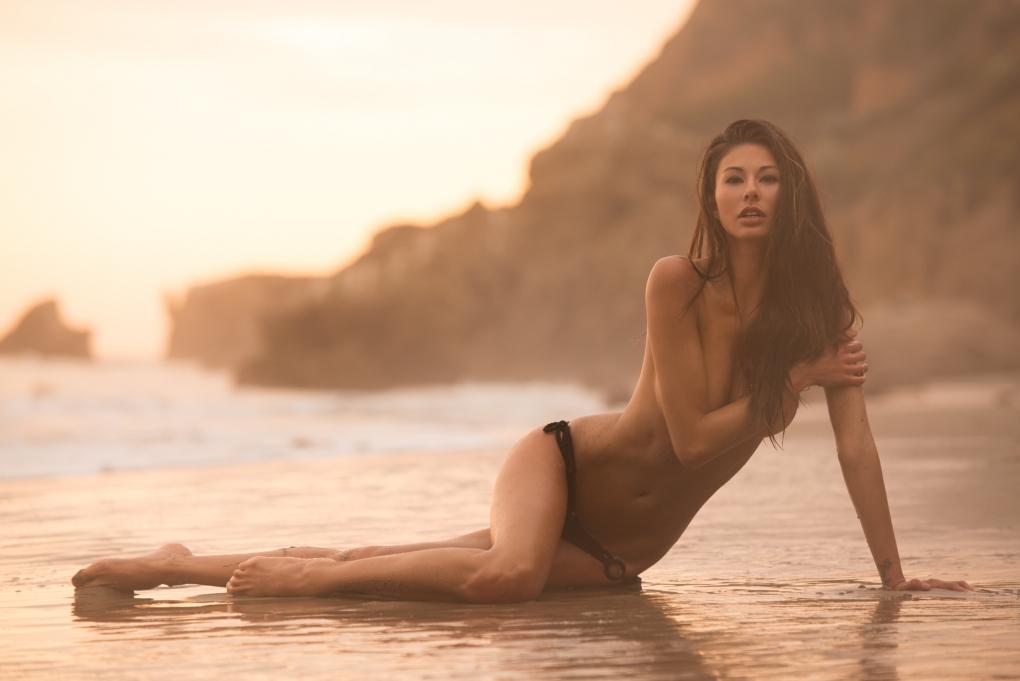 Malibu Sunset by Joey Wright