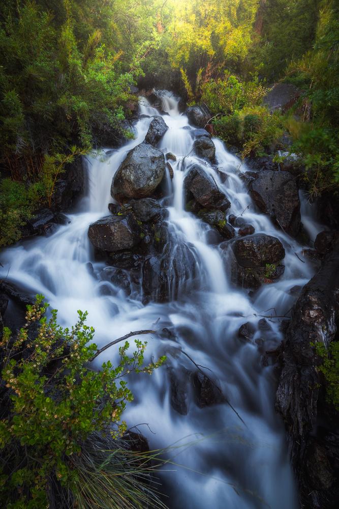 Cascada escondida by Francisco Mendez