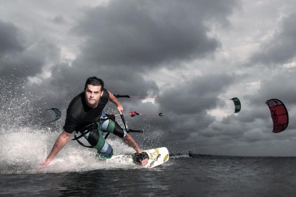 Kiteboard by Patrick Hall