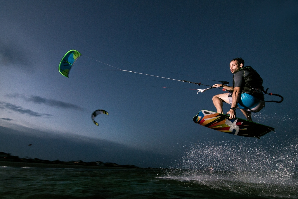 Kiteboarding Test Shoot by Patrick Hall