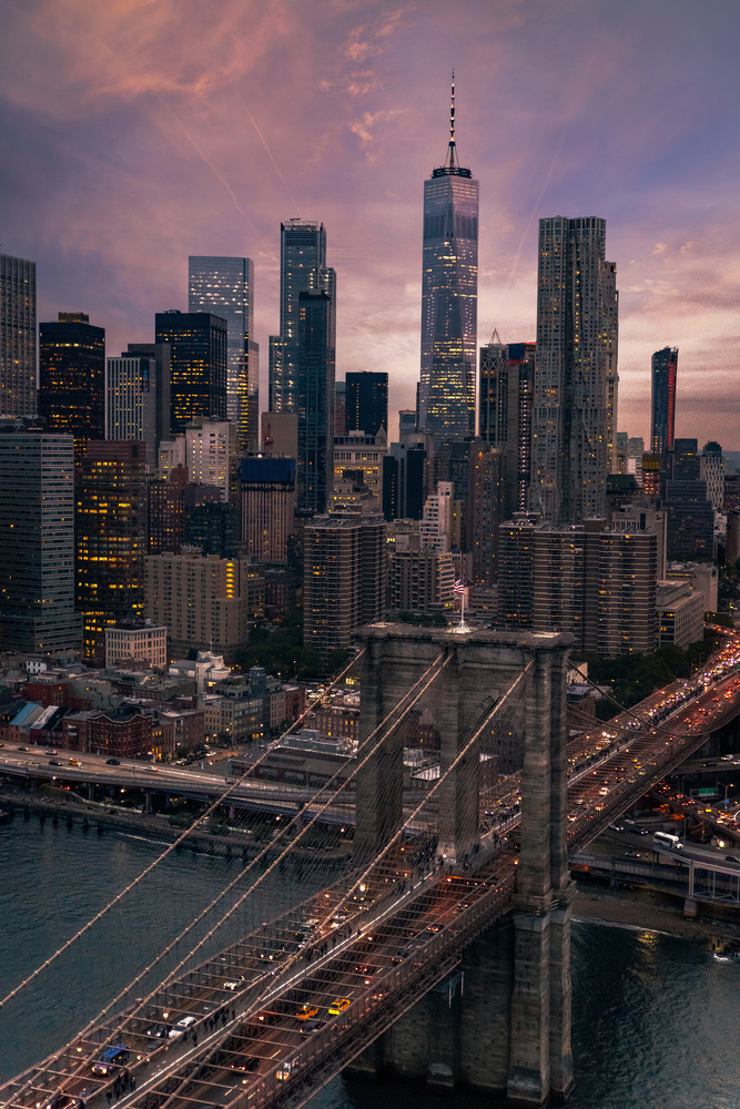 New York City - Financial District by Patrick Hall