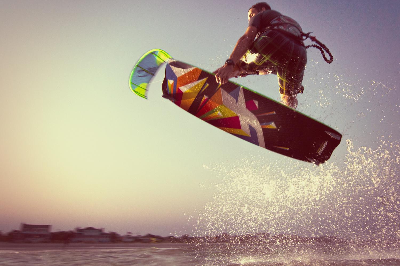 Kiteboarding Photoshoot by Patrick Hall