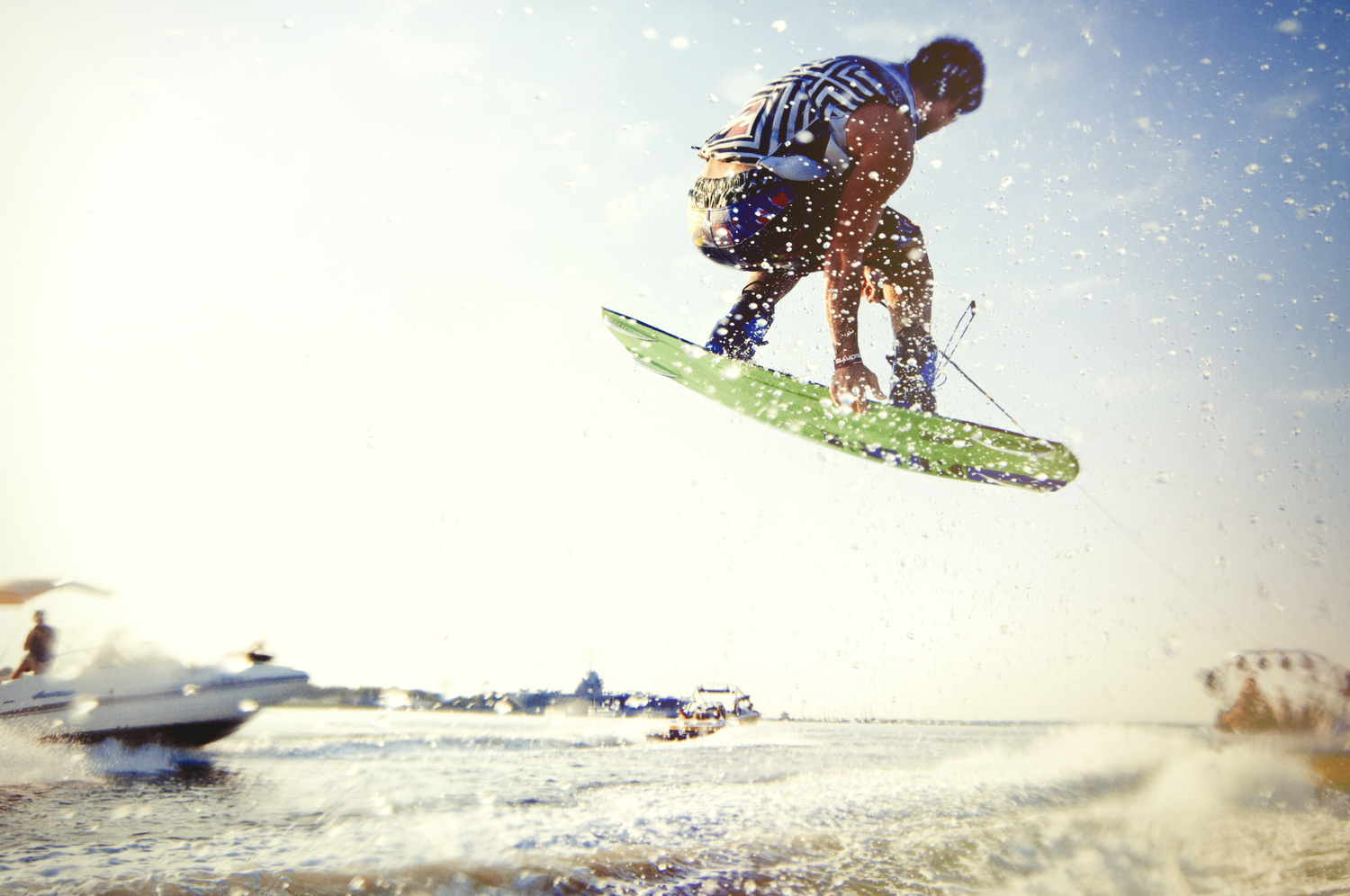 Wakeboarding Photoshoot by Patrick Hall