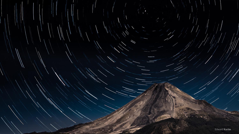 Star Trailing by Edward Karim Torres Rivera