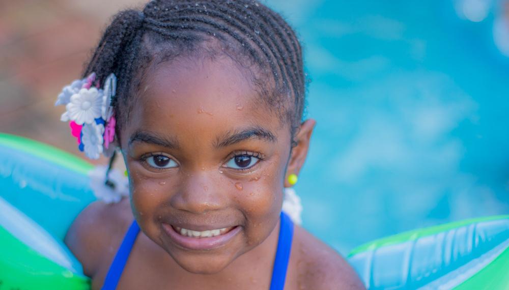 My god-daughter by Edner Emmanuel