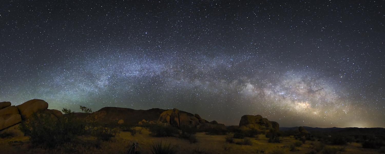 Milky Way over Joshua Tree National Park by Wojciech Szela