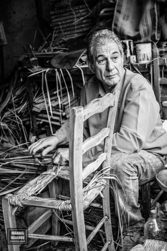 Chair Weaver by Ioannis Ioannou