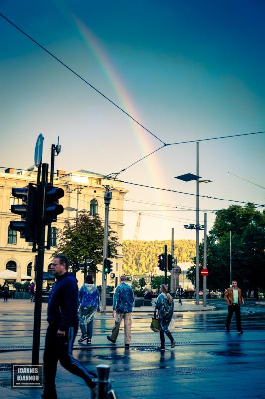Street Rainbow by Ioannis Ioannou