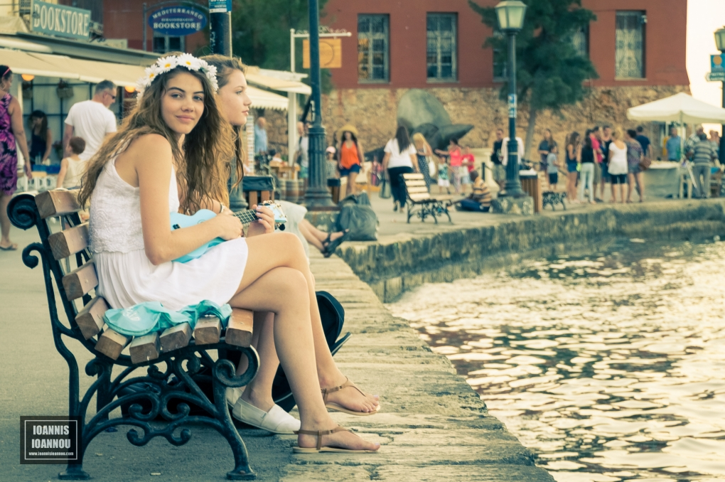 Ukelele Girls by Ioannis Ioannou