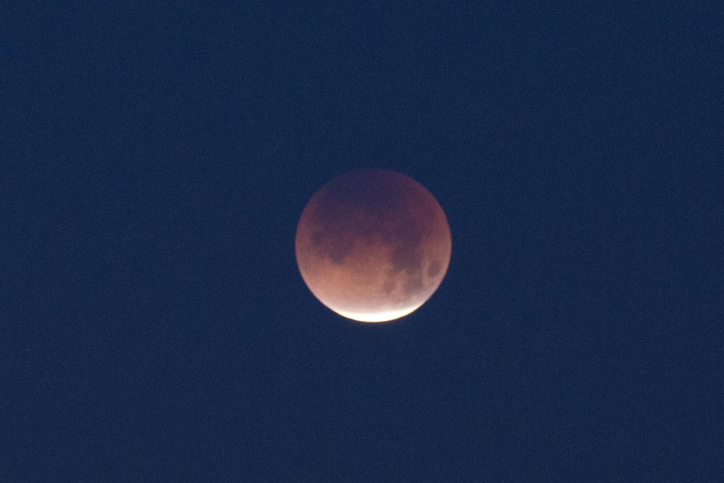 Blue Blood super moon by John E