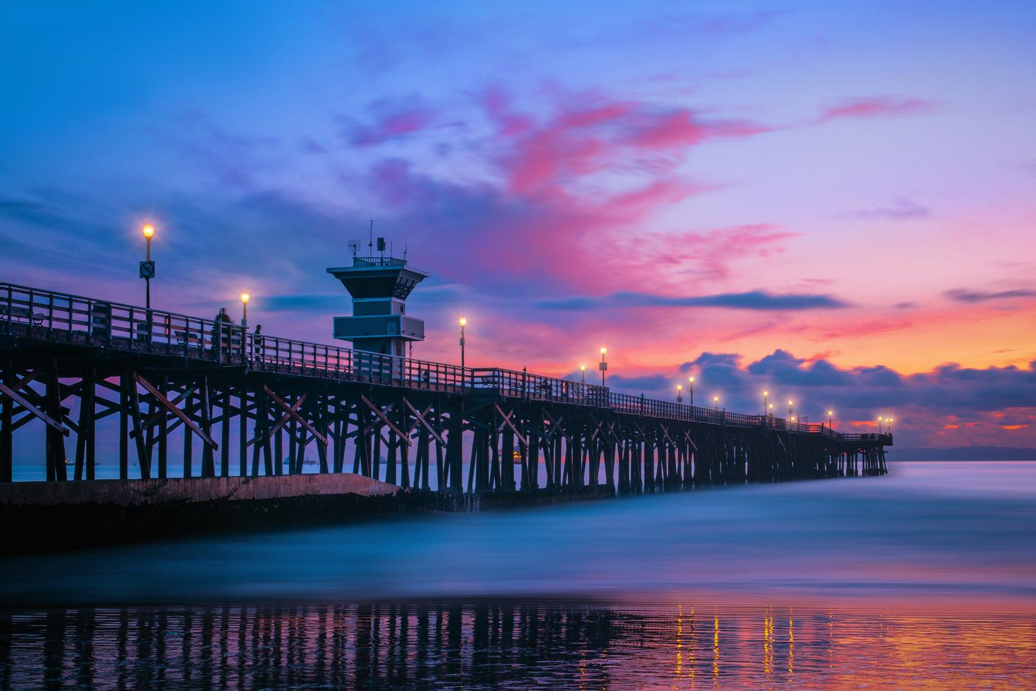 Seal Beach Pier by Jeff Walsh