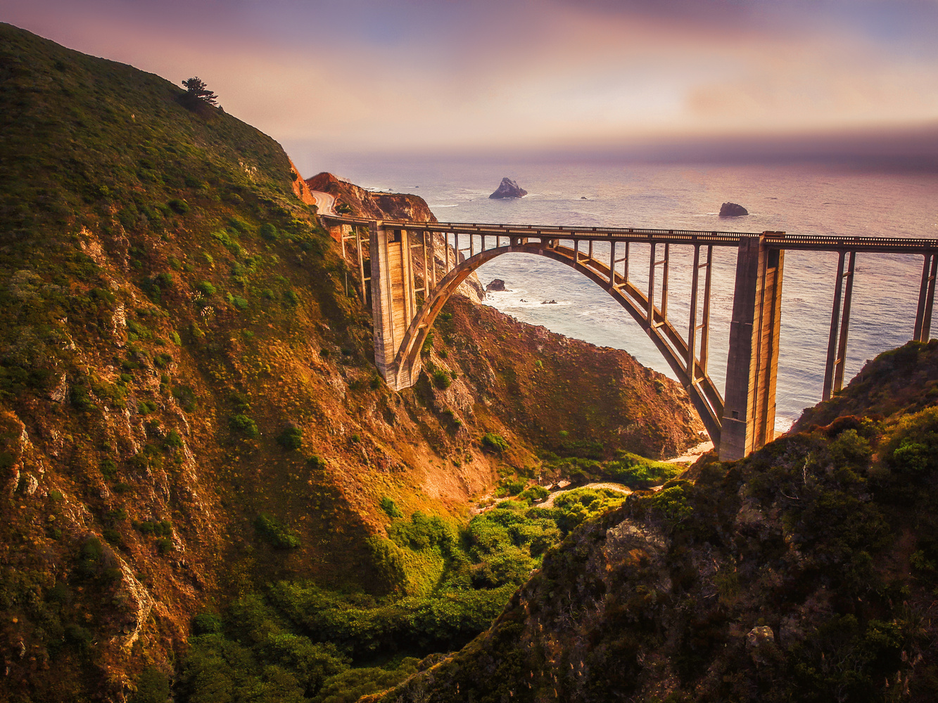 Bixby Creek Bridge by Jeff Walsh