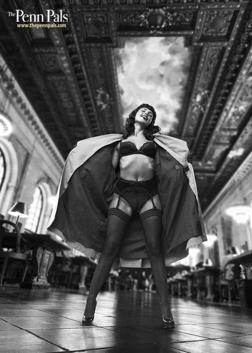 Betty Mae in NY Public Library 1956... by pelle piano