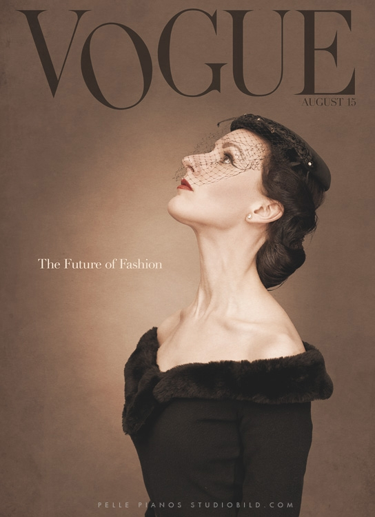 Vogue 1956  by pelle piano