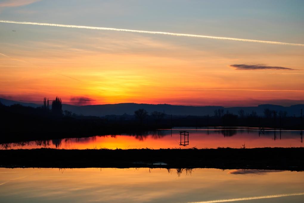 sunset by Vasile Godiciu