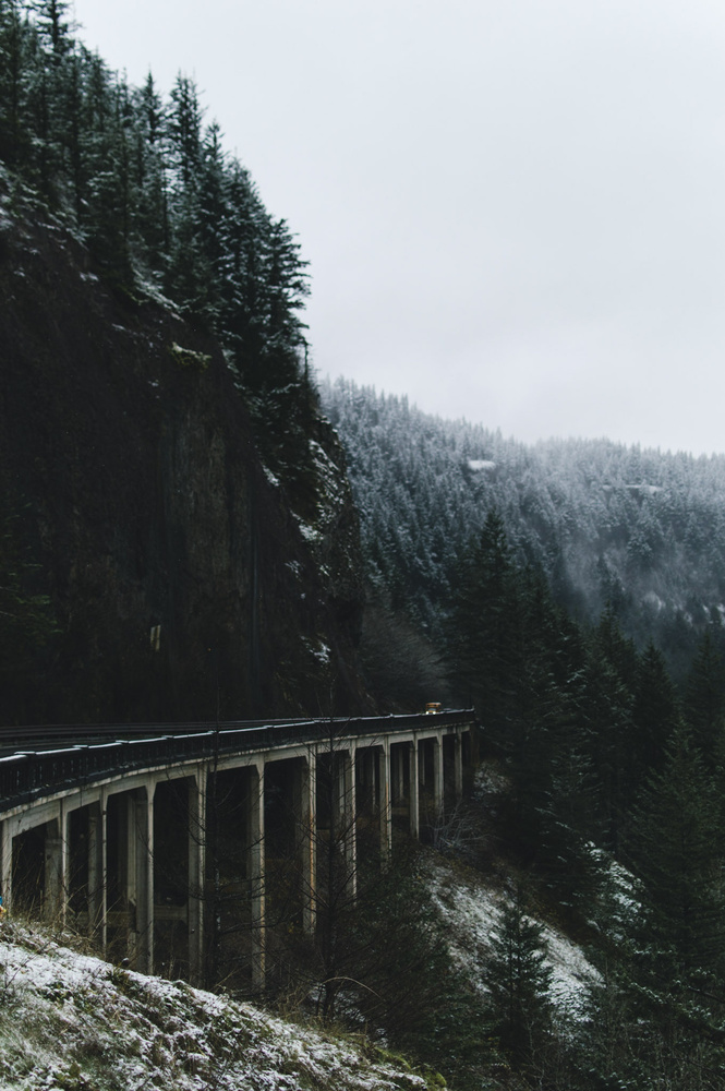 On the way to Hood River by Don Beeler