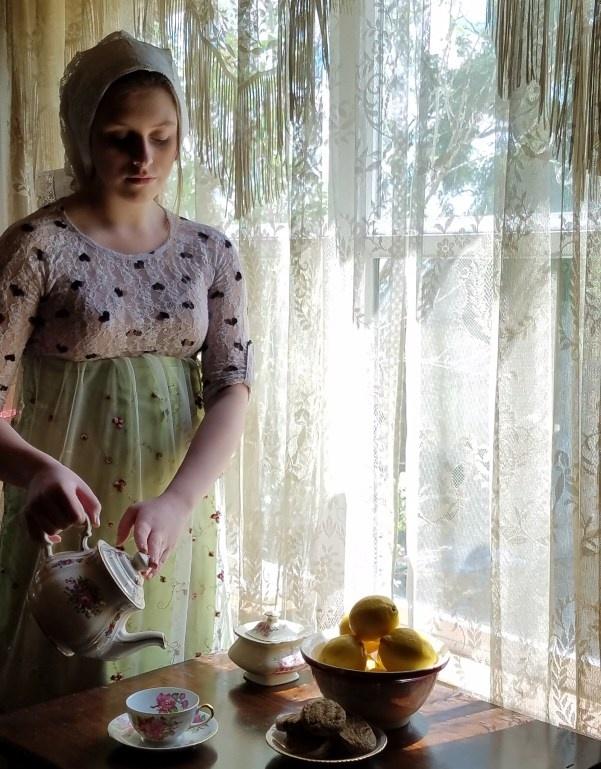 Tea Hostess by Jayme Hunt