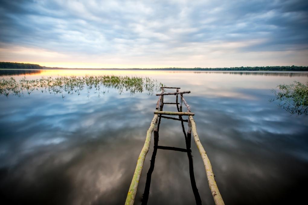 Lake of Sauka (Latvia, EU) by Edgars Kalnins