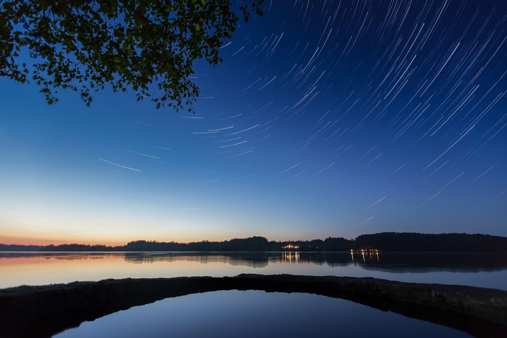 Star Trail by Edgars Kalnins
