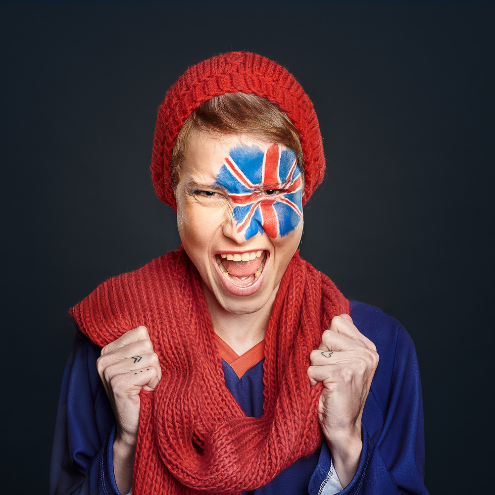Faces of hockey - UK by Ivan Horvath