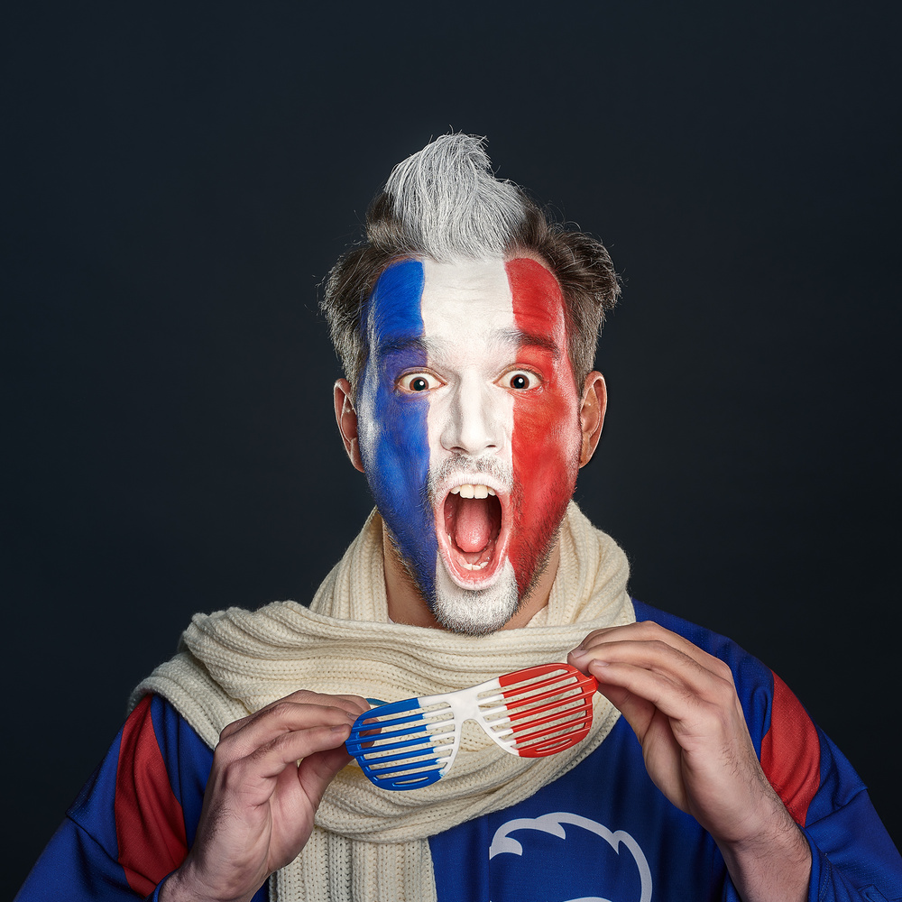 Faces of hockey - French by Ivan Horvath