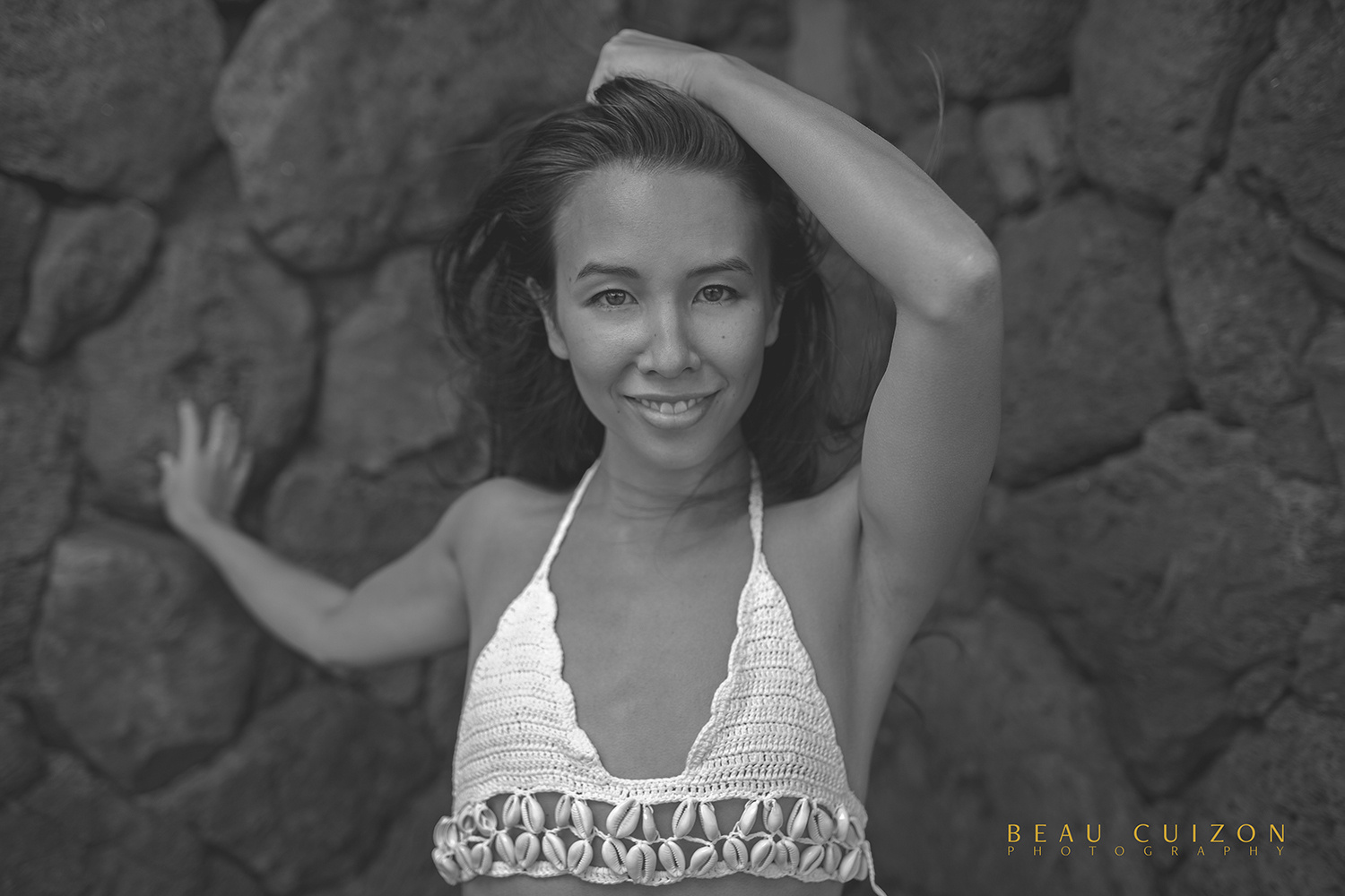 Black and White Aly by Beau Cuizon