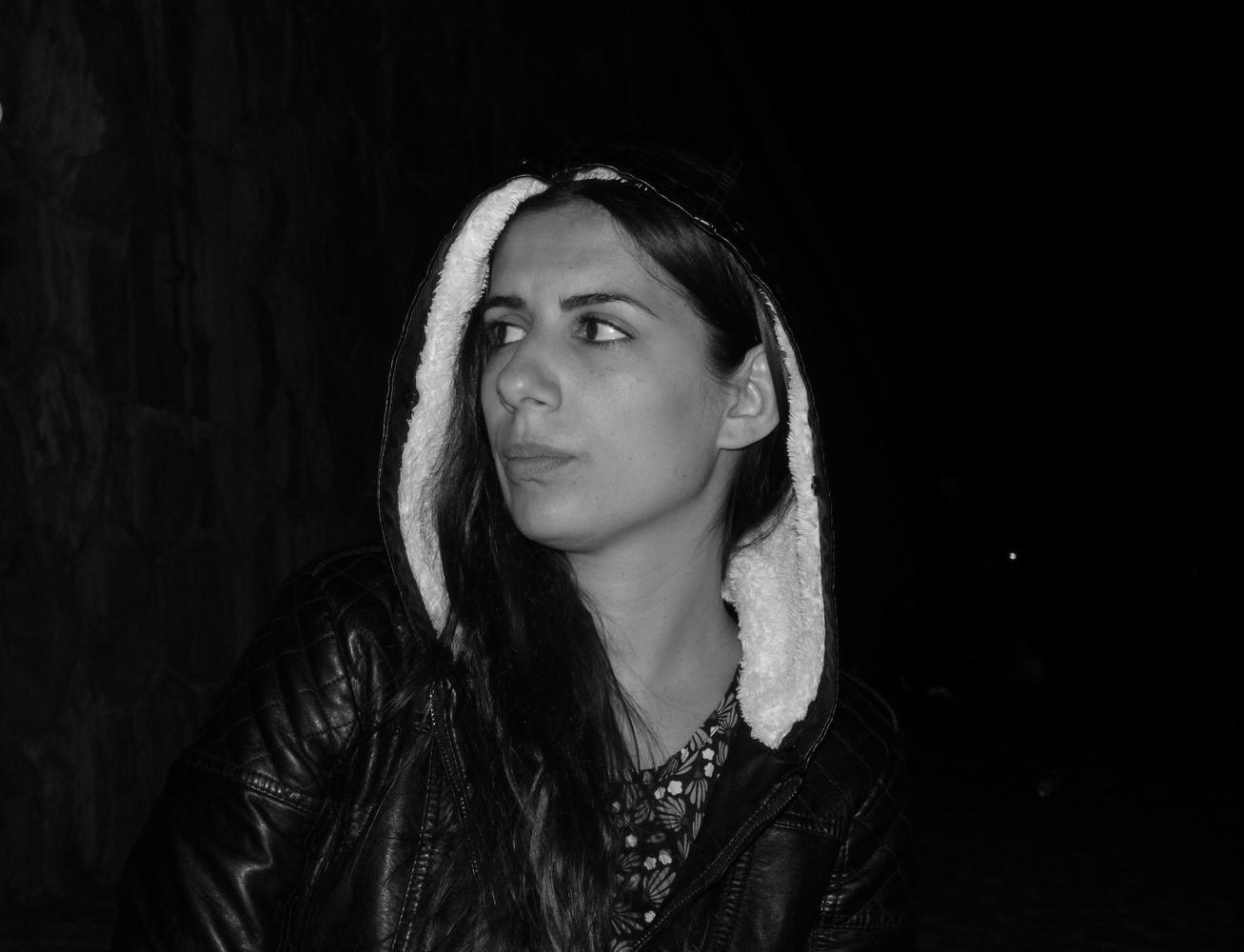 Night portrait  by Blaga Dimitrova