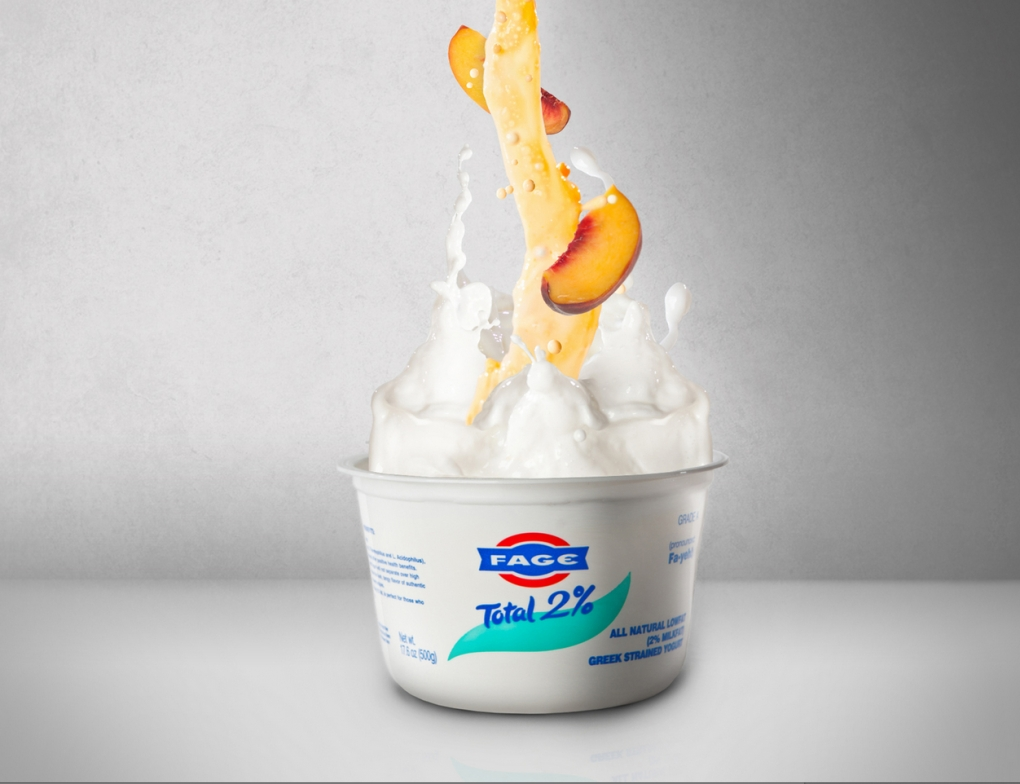 Fage Fruit-On-The-Bottom by Jaron Schneider