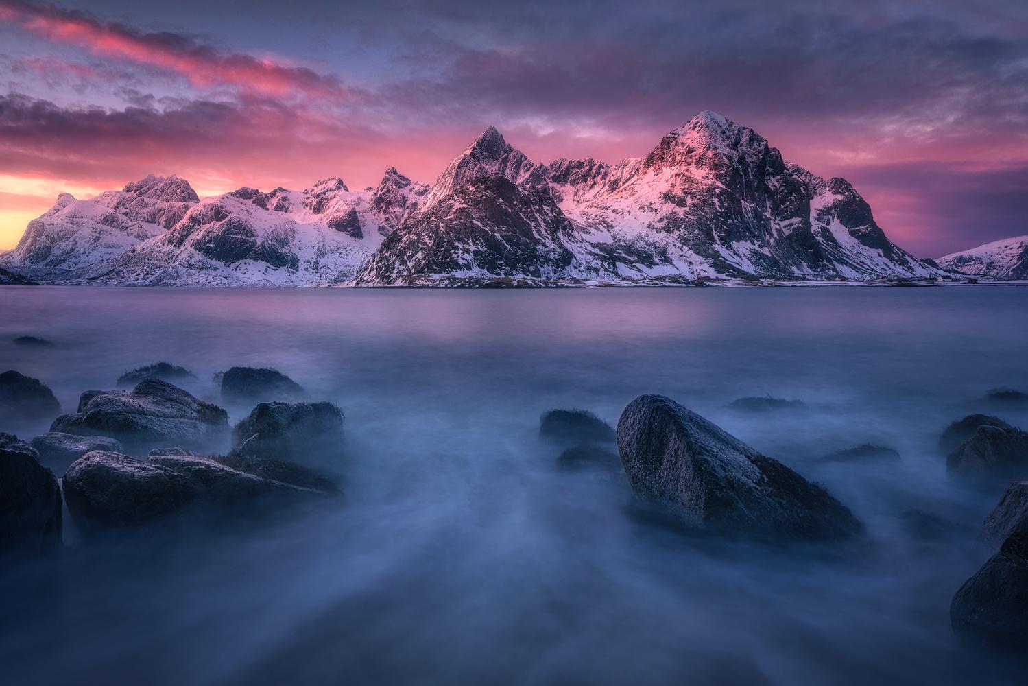 Vareid calm by Kai Hornung
