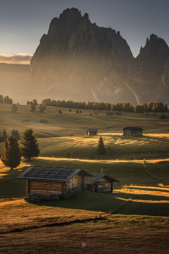 Seiser Hütten (Alpe di Sissi, Italy) by Kai Hornung