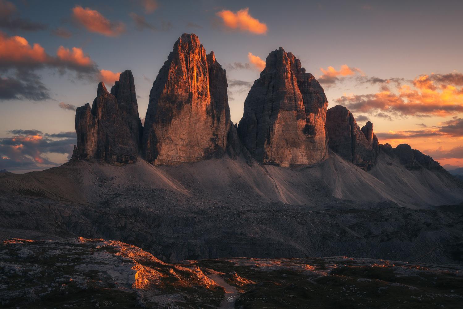 three peaks by Kai Hornung