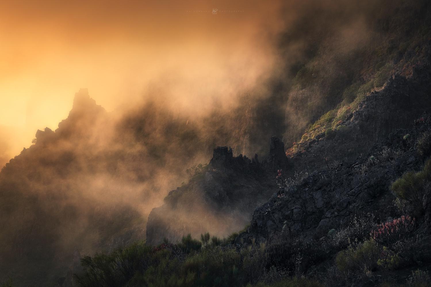 burning eden (Tenerife) by Kai Hornung