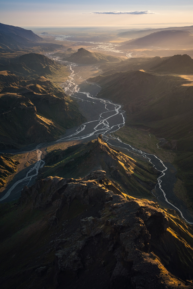 Valley of light by Kai Hornung