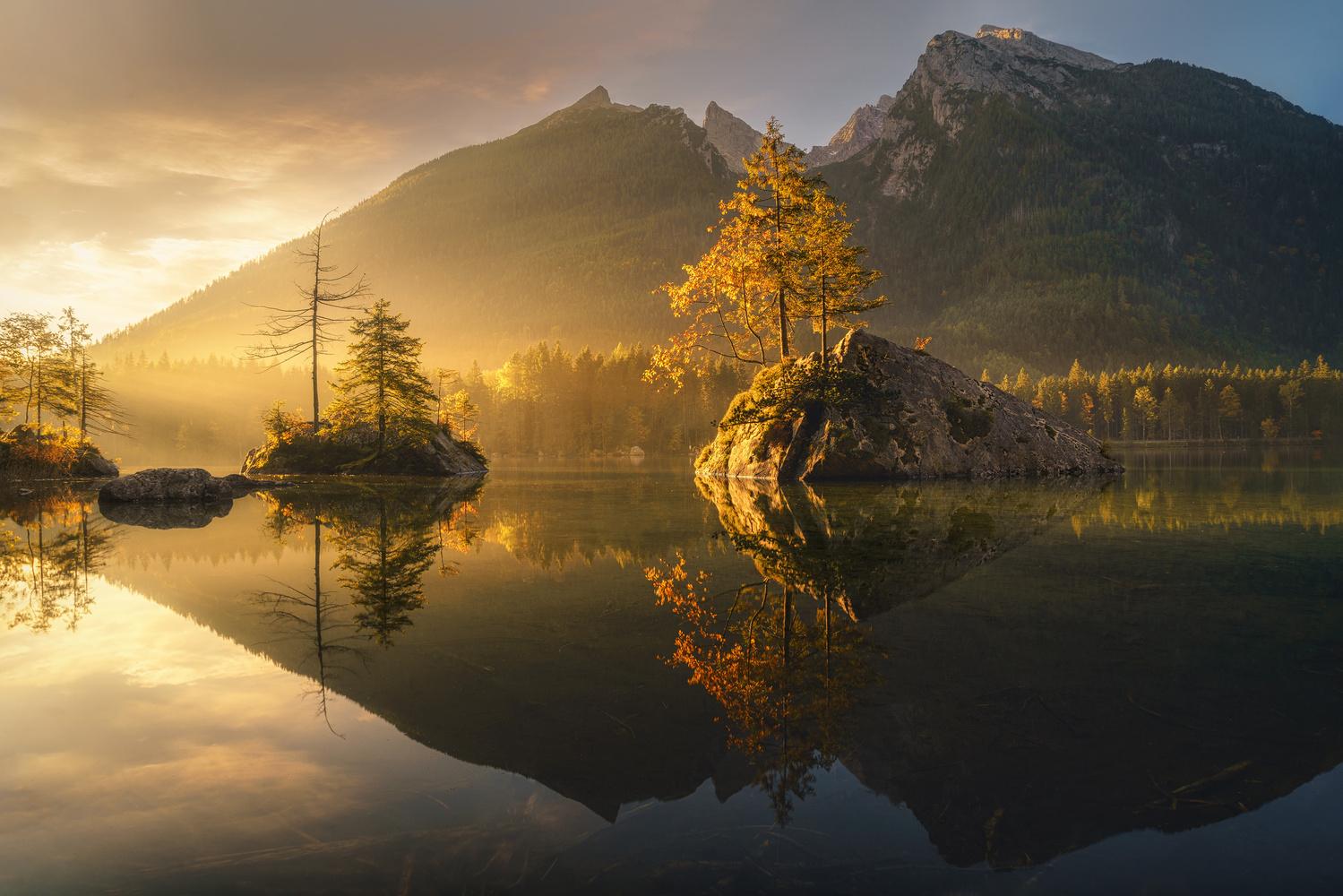 Hintersee morning by Kai Hornung