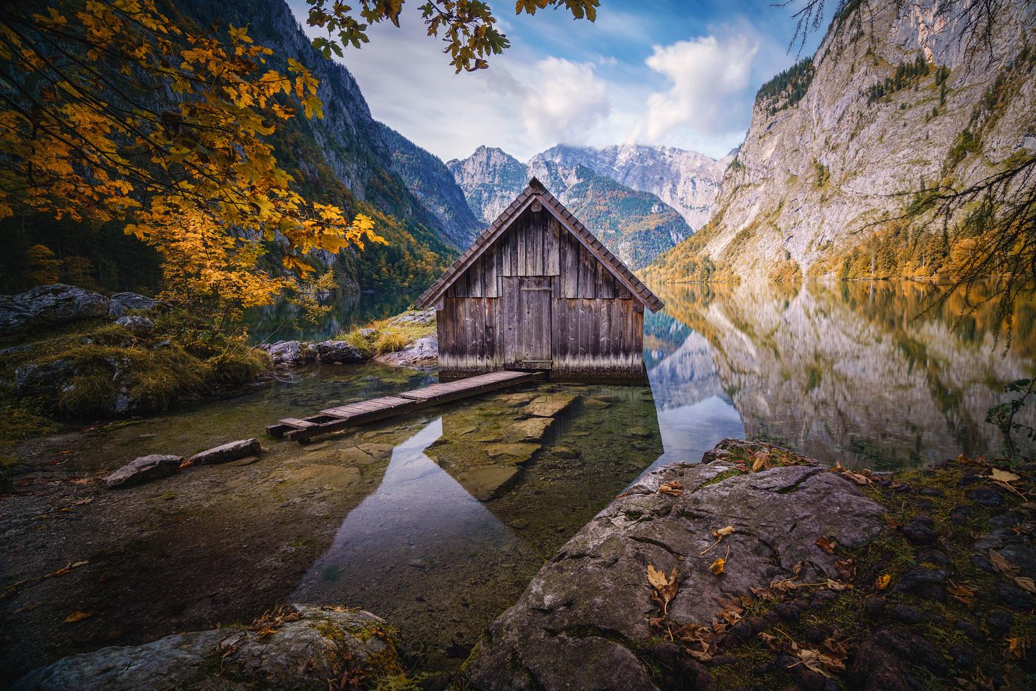 Obersee hut by Kai Hornung