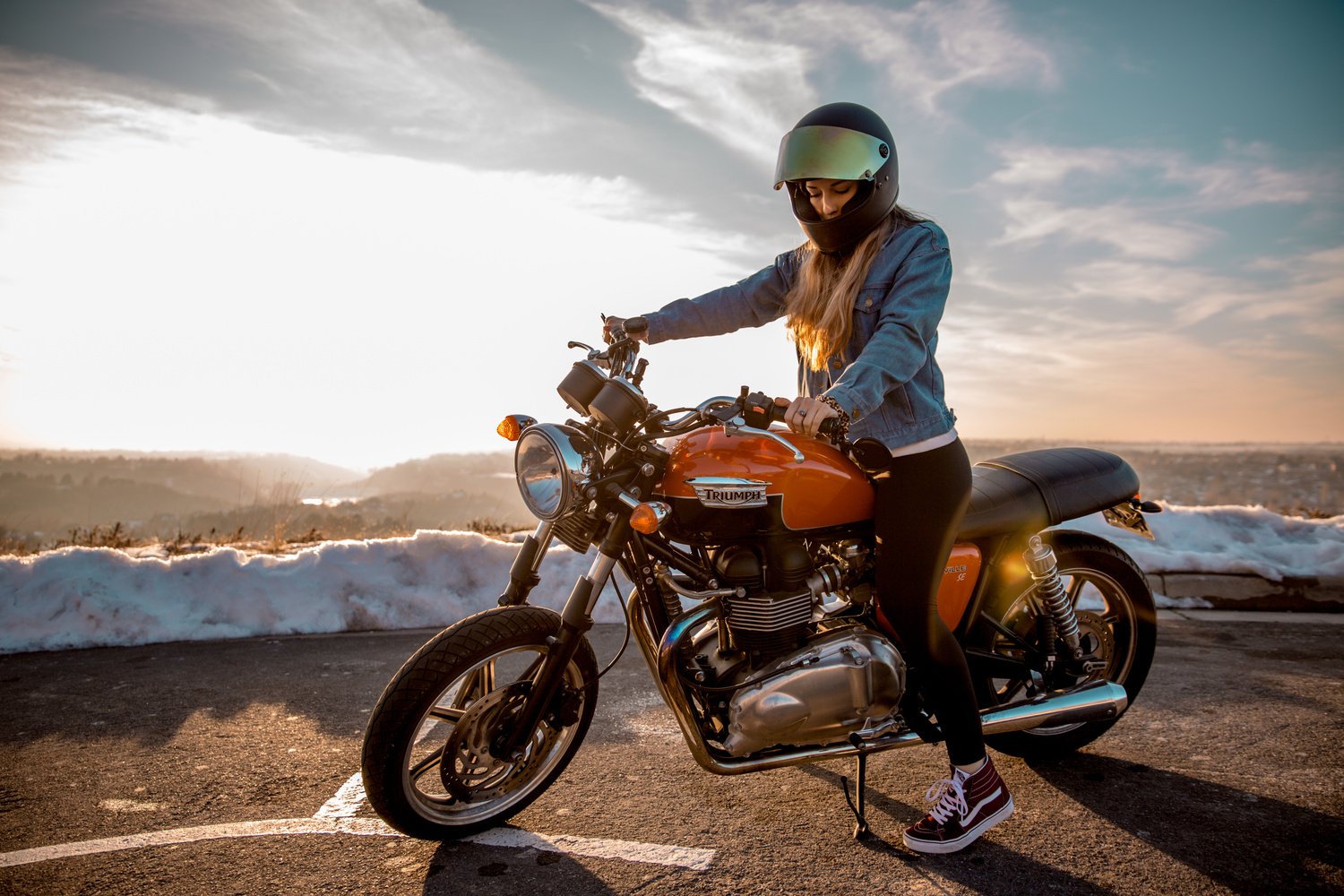 Bike Babe by Tanner Koonce
