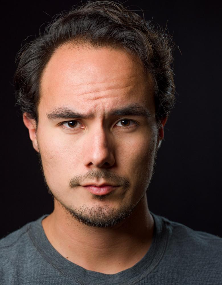 Headshot Self-Portrait by stephen helfrich