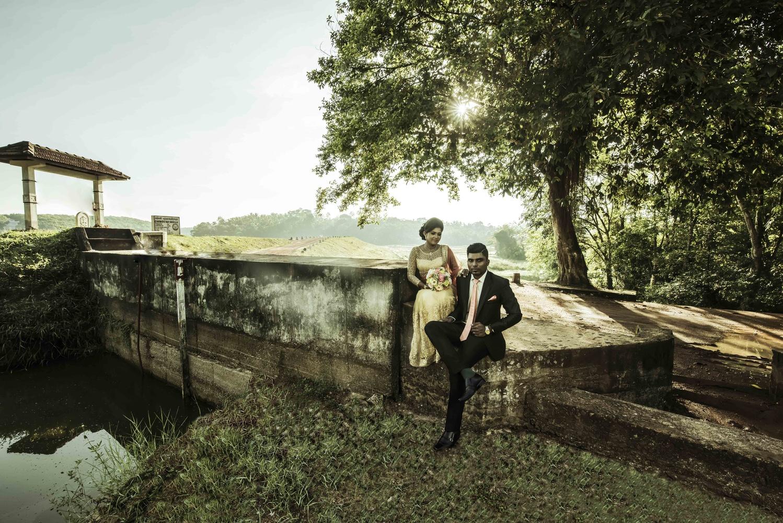 Wedding day of Lakshan & Dhananji by Asoka Edussooriya